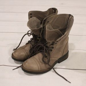 Steve Madden Munch military boots